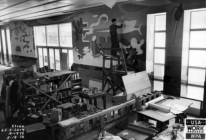 Hilaire Hiler's Murals in the Casino 1937