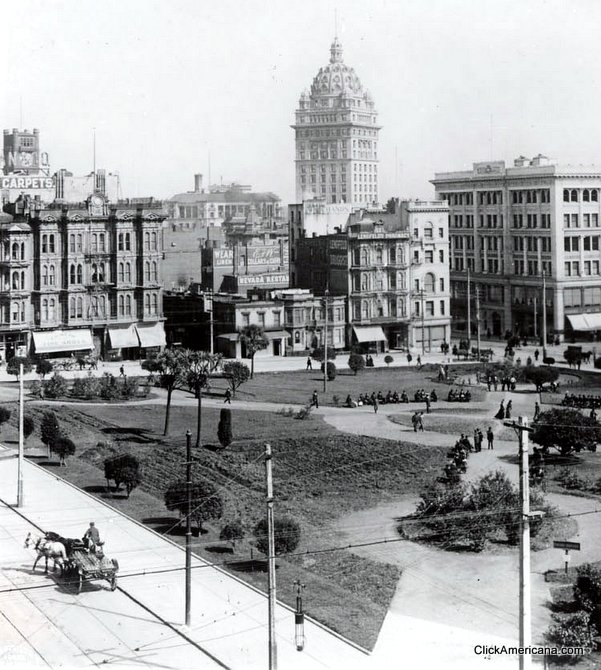 East side of Square 1900
