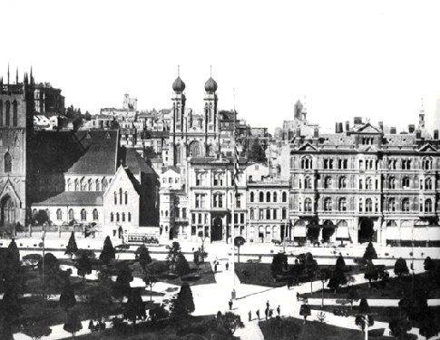 1875 with Temple Emanu-El