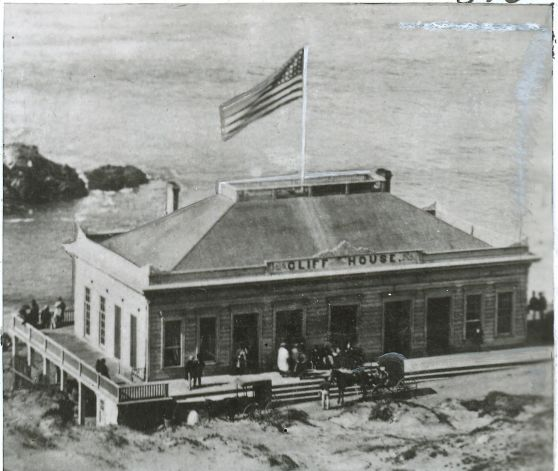 Original Cliff House 1863