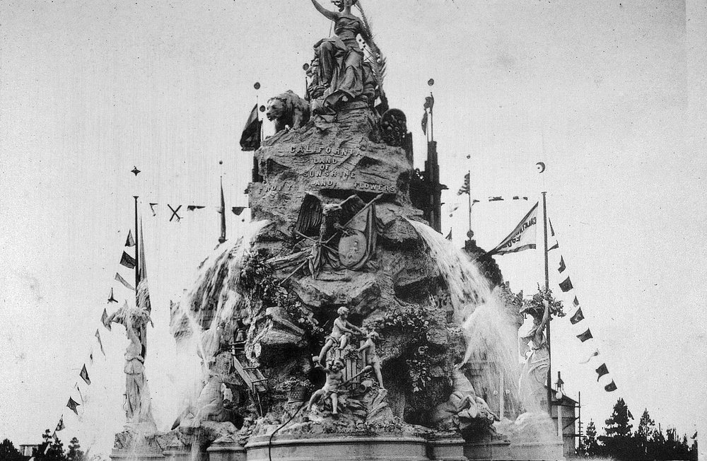 1894 midwestern expo-allegorical fountain-John A Harris.jpg