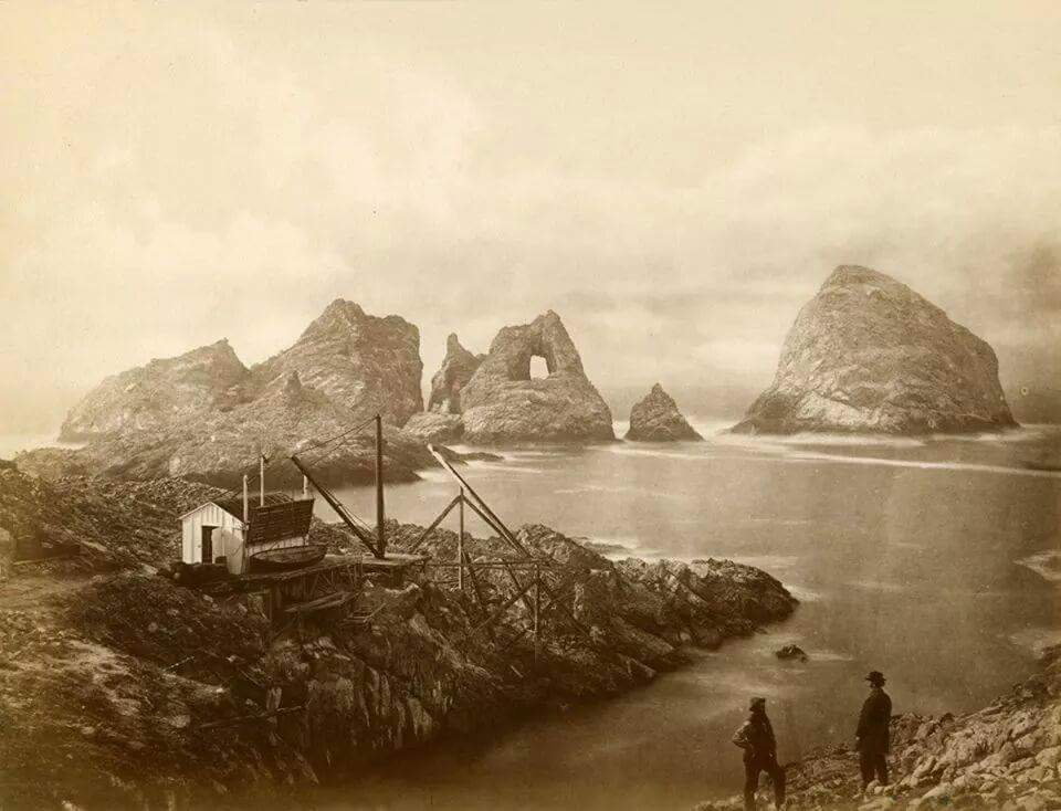 Farallone Islands in 1880