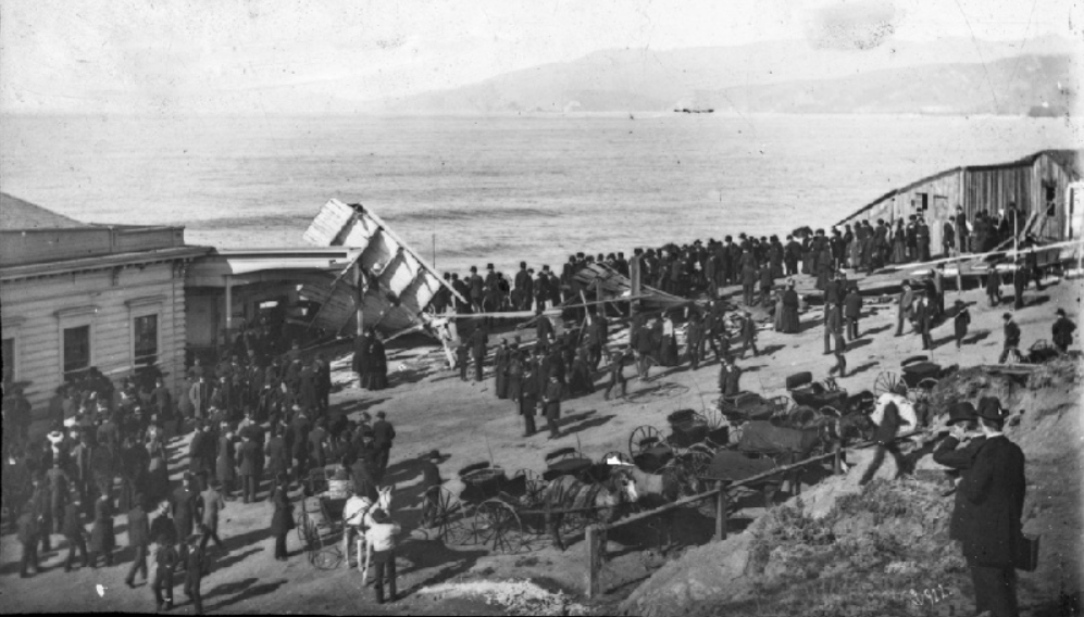 Cliff House stables destroyed by SS Parallel explosion