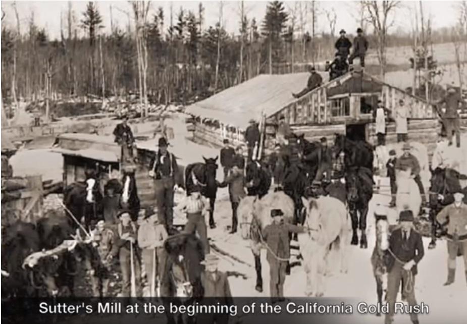 Sutter's Mill 1848