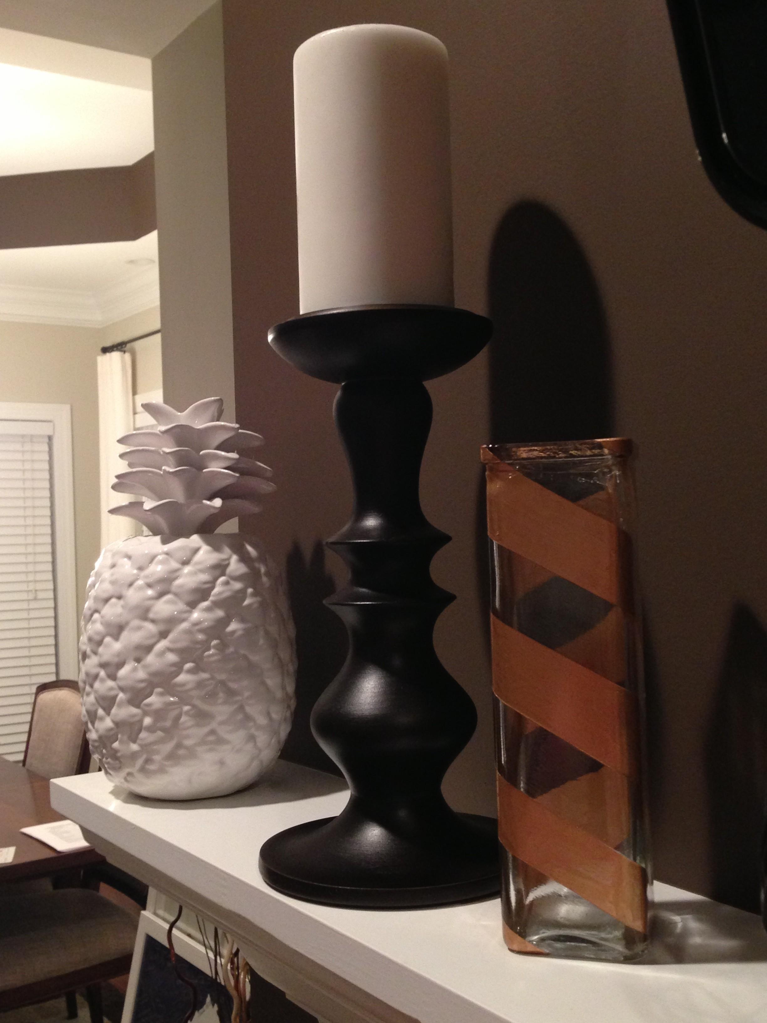 Paint glass vases