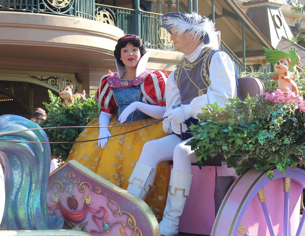 Snow White Disney Paris
