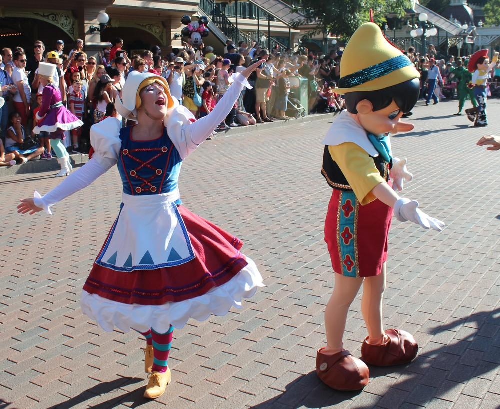 Pinocchio Disney Paris
