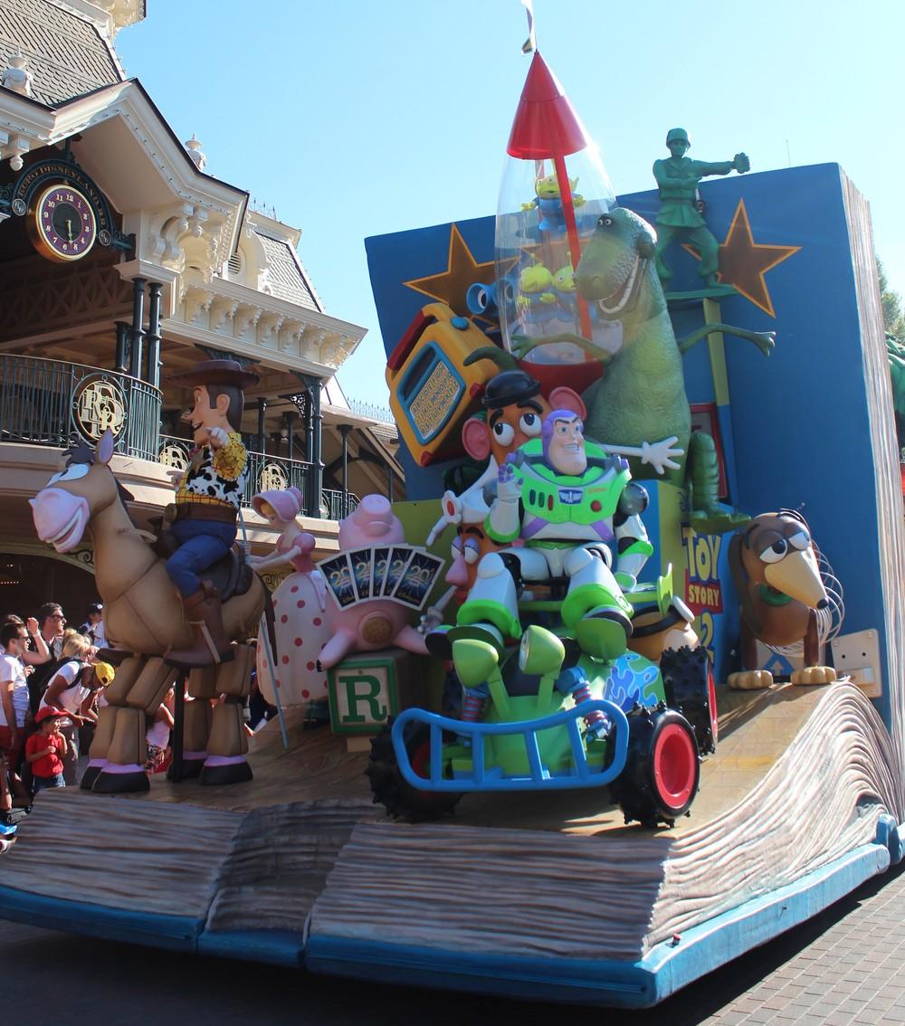 Toy Story Float Disney Paris