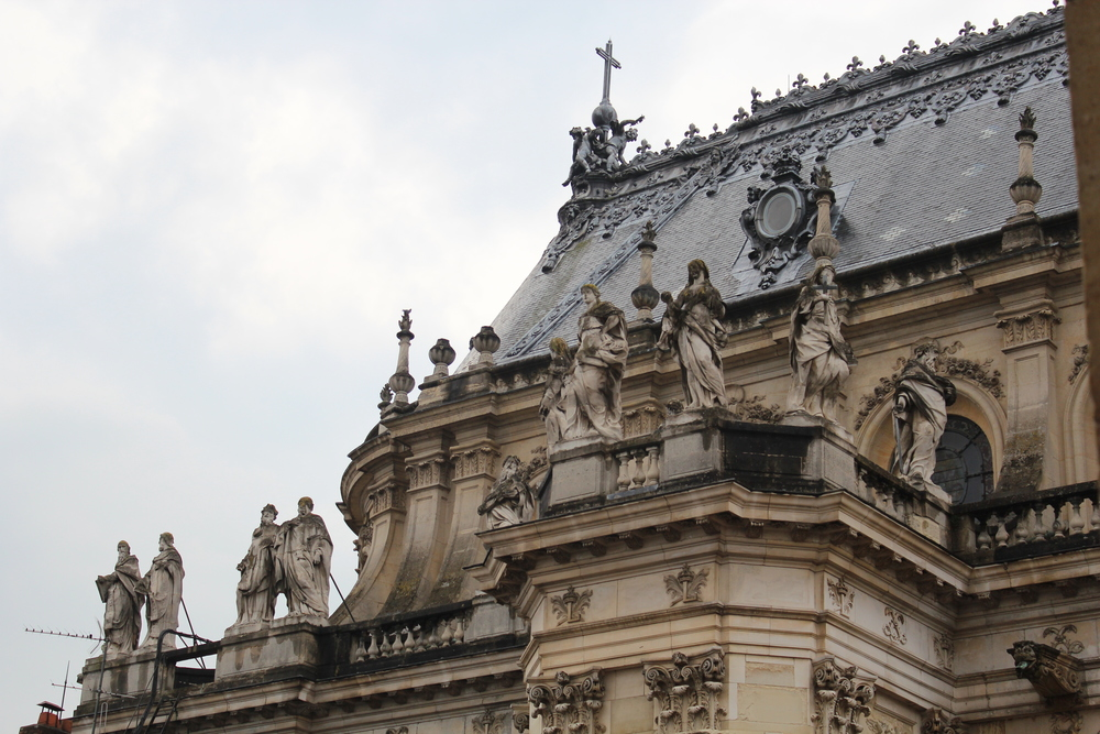 Roof of Versailles