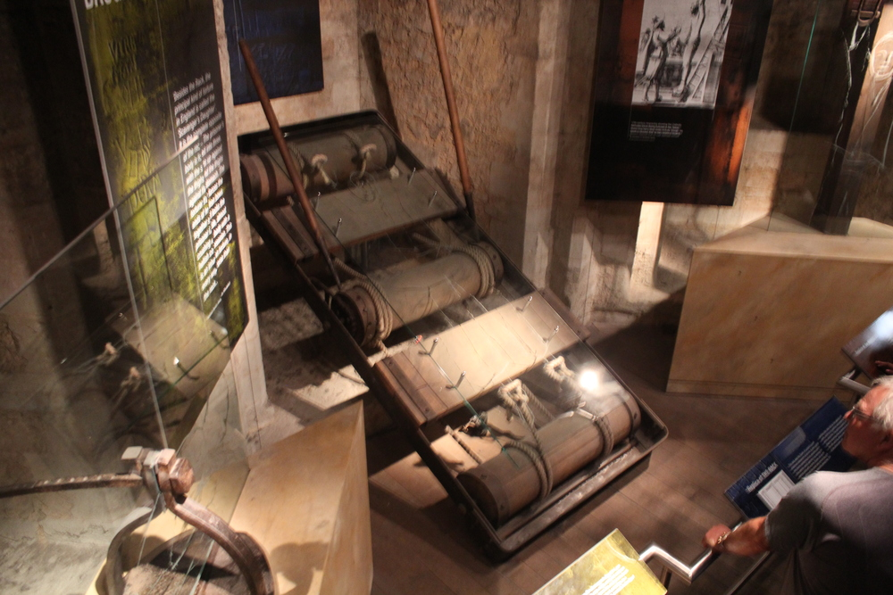 Tower of London torture devices