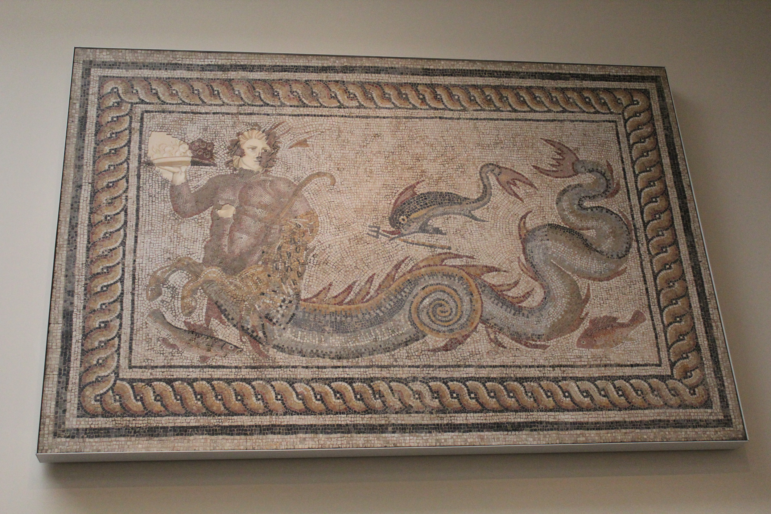 British Museum Tile Mosaic