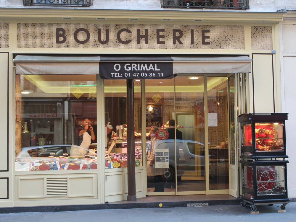 Boucherie Paris