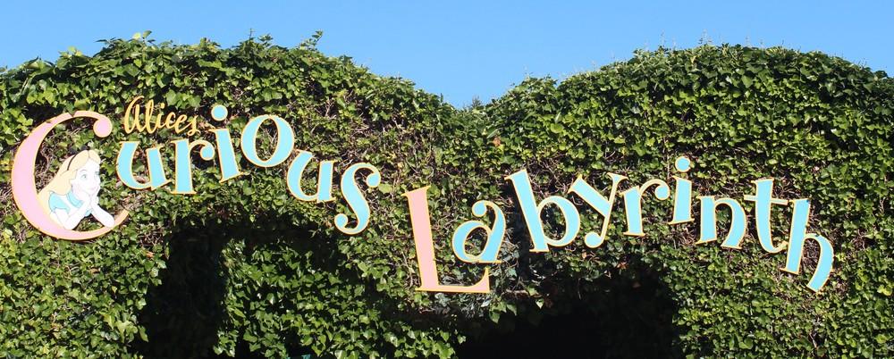Alice's Labyrinth Disney Paris