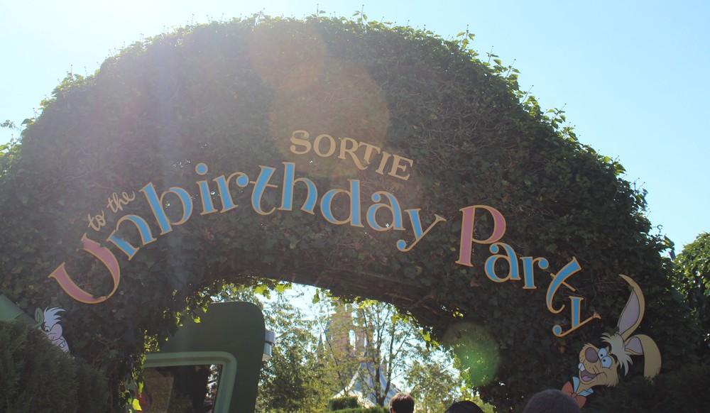 Alice Exit Disney Paris
