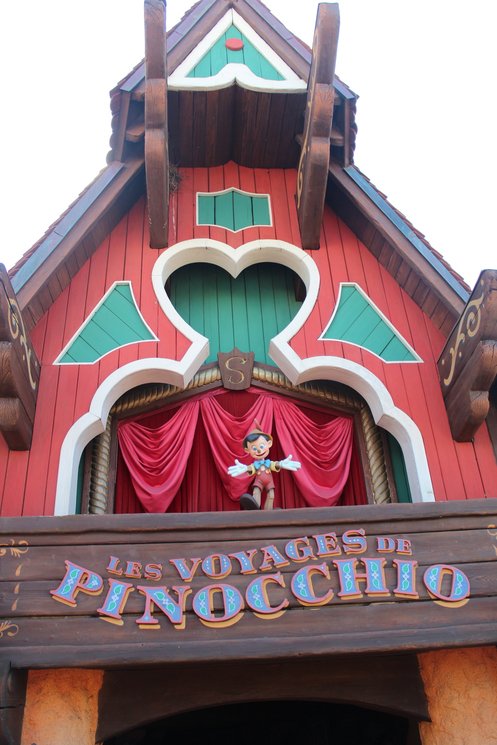 Pinocchio Ride Disneyland Paris