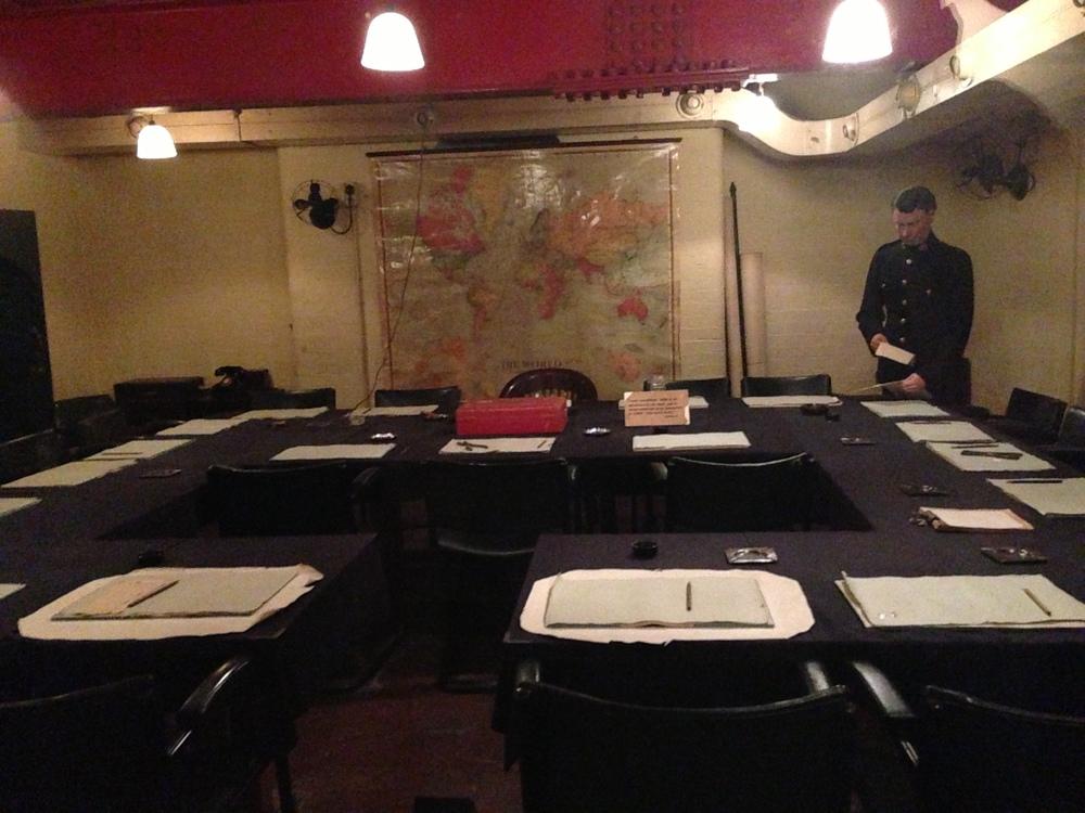Cabinet Room - Churchill War Rooms
