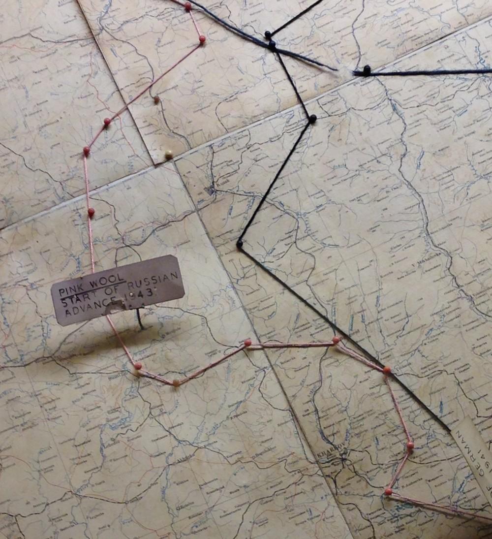 War Room map