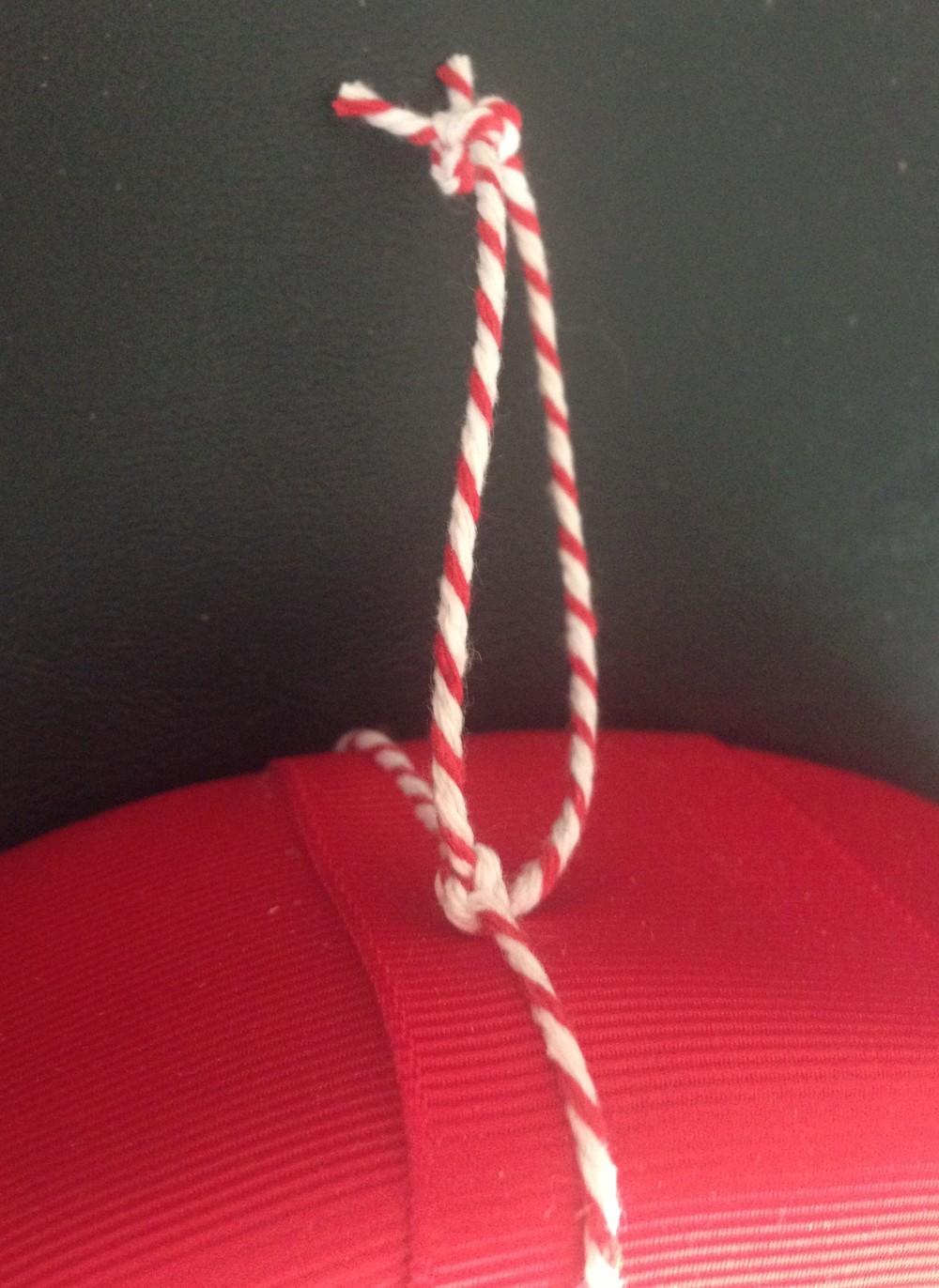 Tie To hang wreath