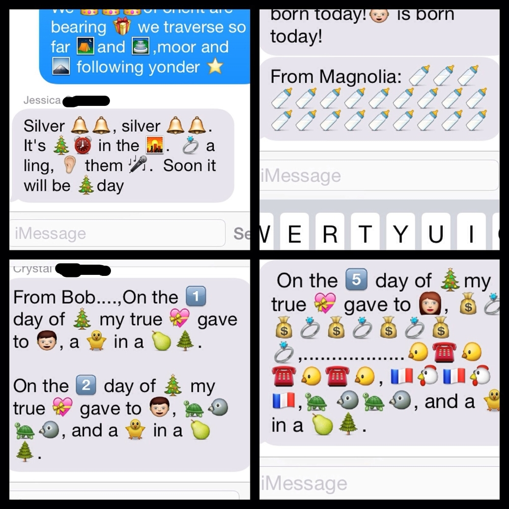 Emoji Christmas Carols 2