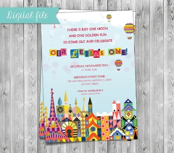 etsy small world invitation