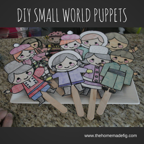 small world puppets