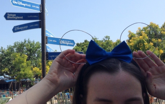 Lauren Conrad inspired wire ears (click the photo for the full Disney/Style tutorial)