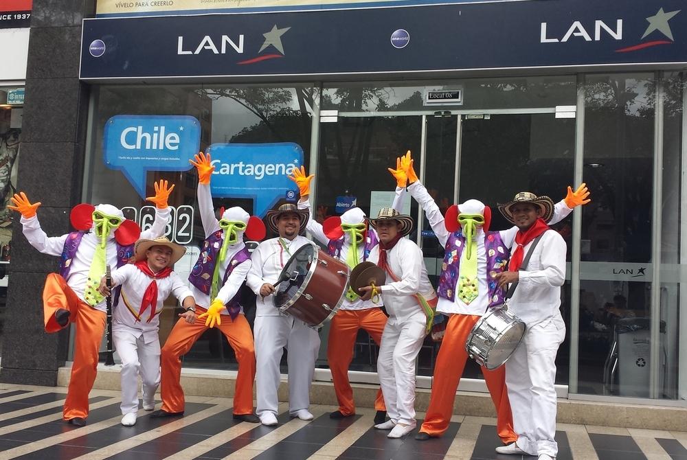 Activación LAN - Carnaval de Barranquilla 2015