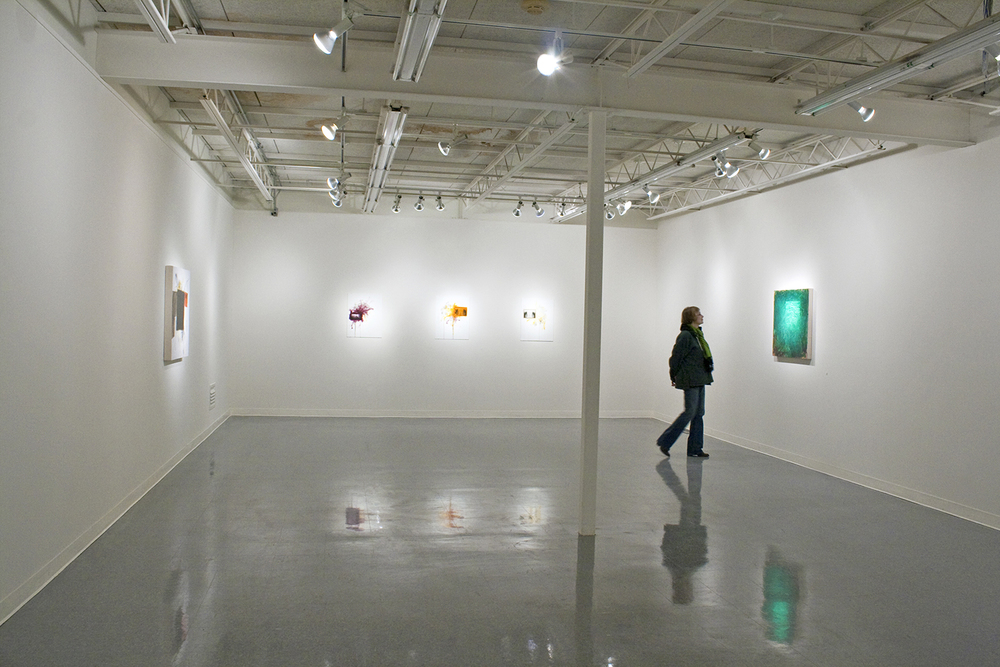 New Work  (installation in gallery), Unity Gallery, Maharishi University of Management, Fairfield, Iowa, March 2012.