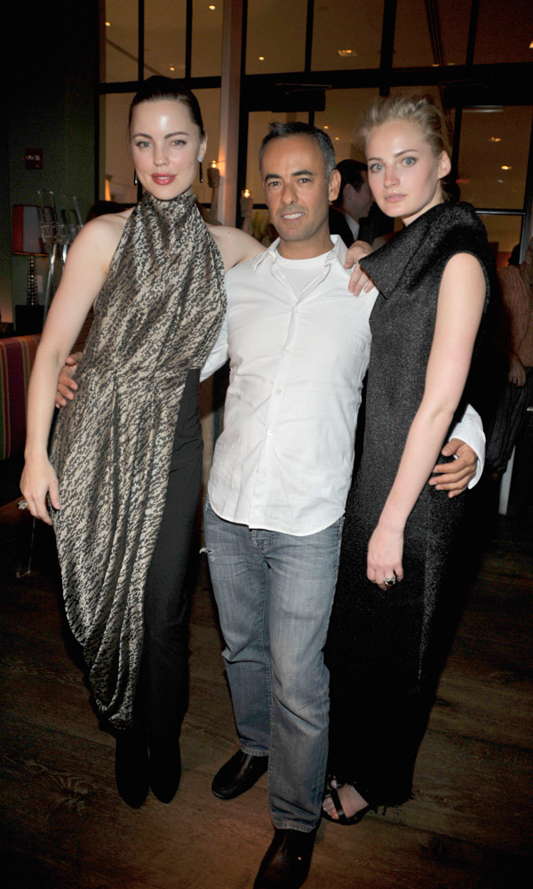 Melissa George, Francisco Costa & Georgia Lazzaro