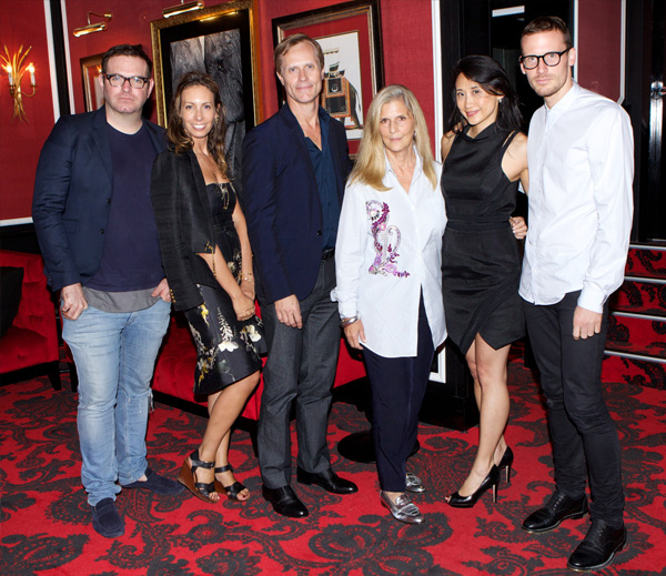 Antony Kendall, Romy Frydman, Malcolm Carfrae, Nancy Pilcher, Michelle Lee and Dion Lee