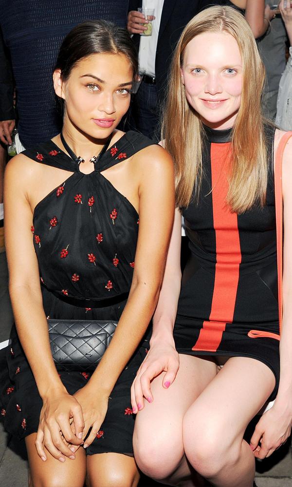 Shanina Shaik & Holly Rose