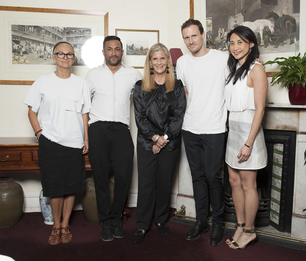 Judges Brana Wolf, Ryan Lobo, Nancy Pilcher, Dion Lee and Michelle Lee