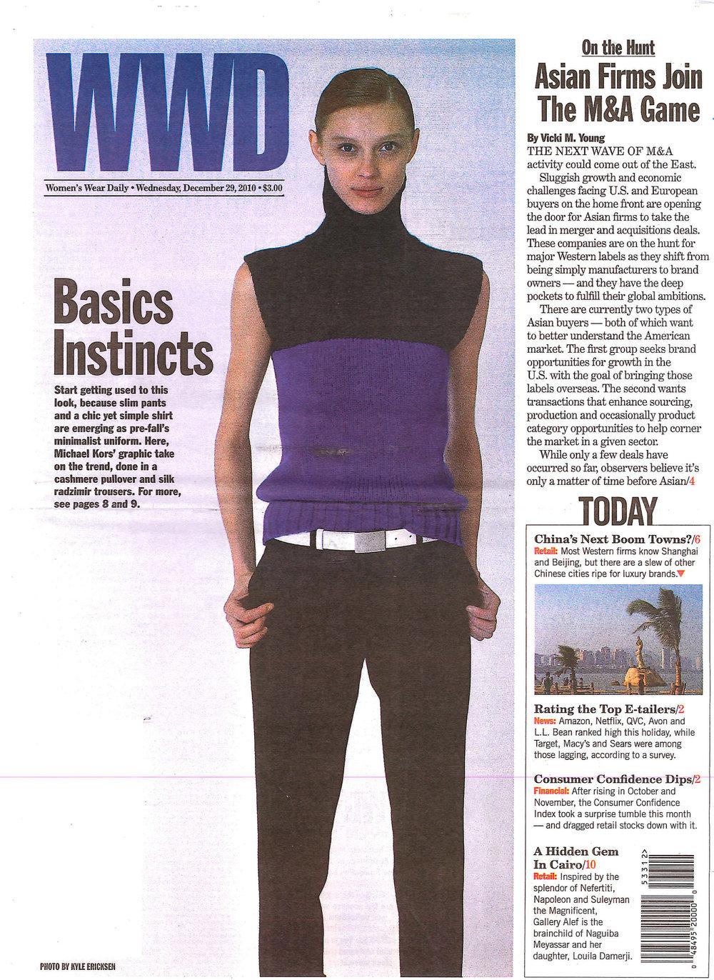 WWD  | December 2009