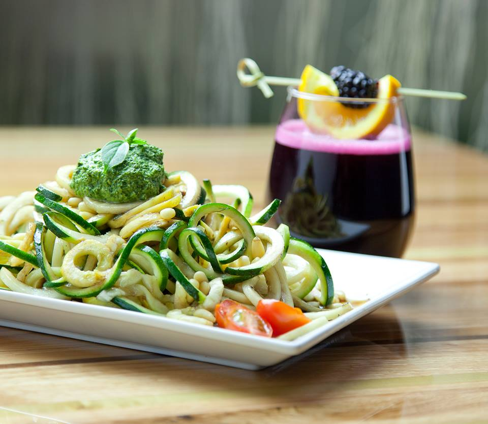 vegetarian zucchini noodels
