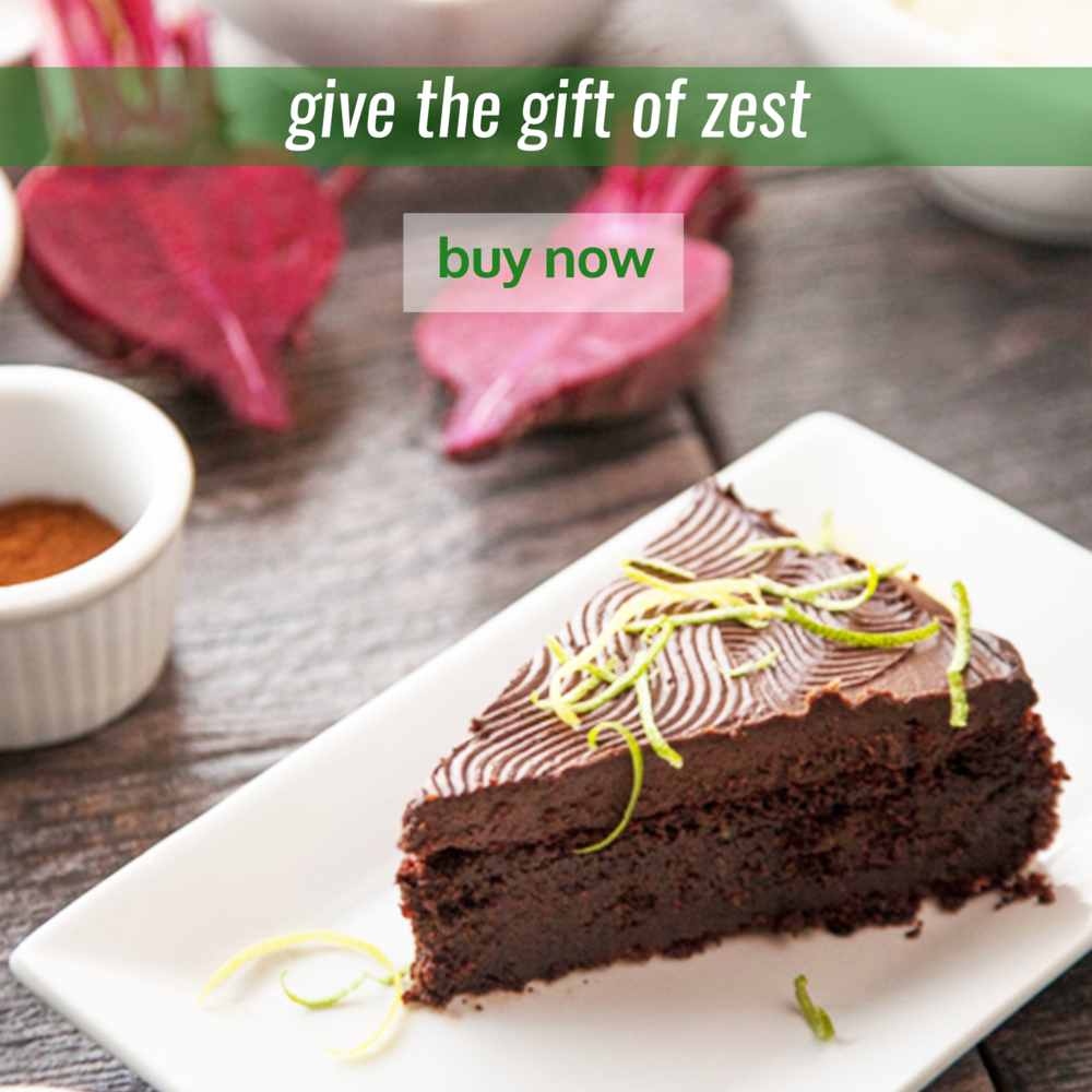 give the gift of zest gift certificate