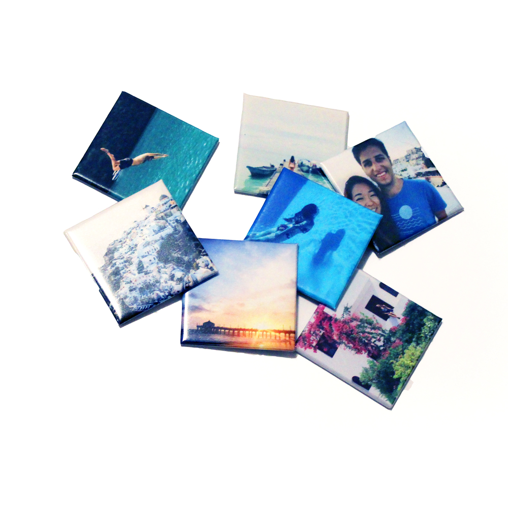 My magnetic Instagram prints from   Social Print Studio  !