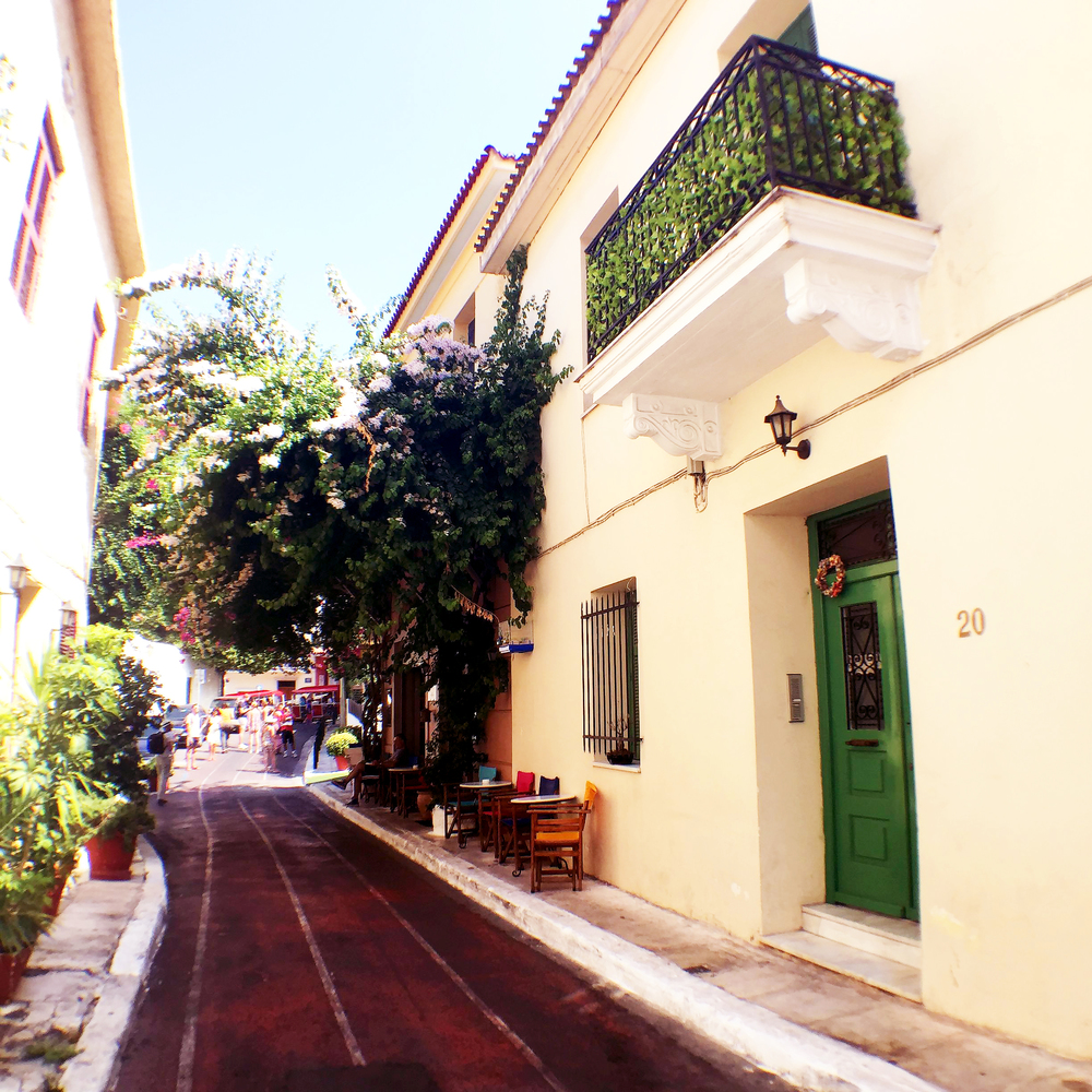 Plaka neighborhood, Athens, Greece