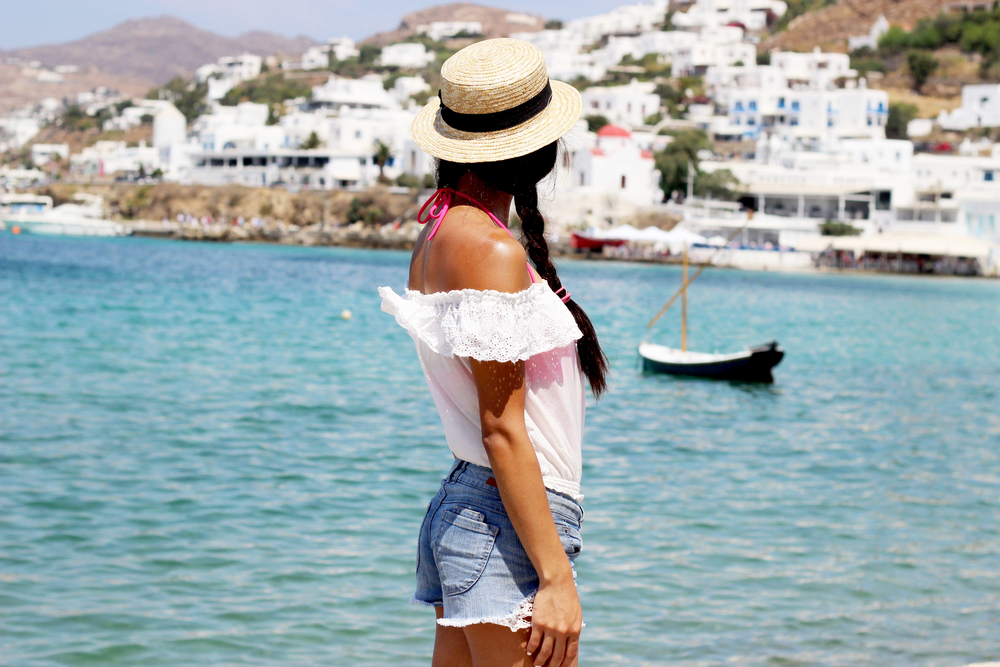 Exploring Mykonos Town and its port
