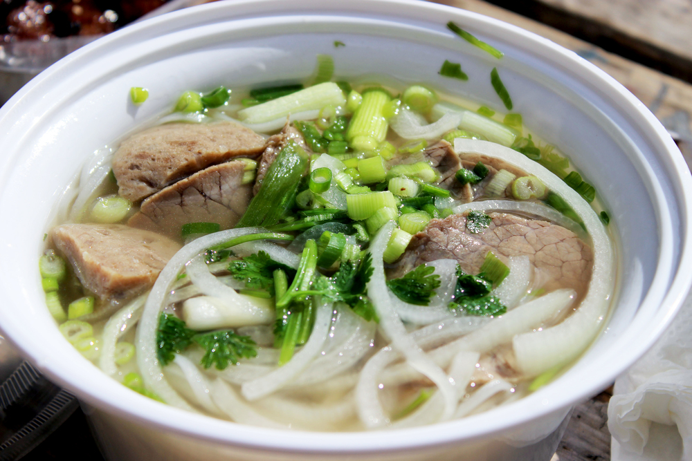 Delicious pho from the streets