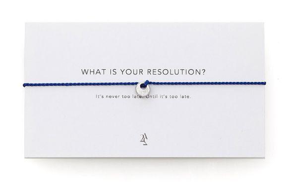 Resolution Bracelet