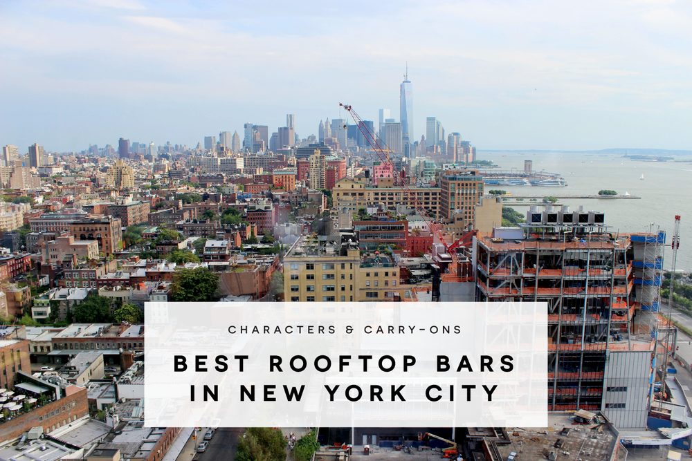 Best Rooftop Bars in New York City — characters & carry-ons