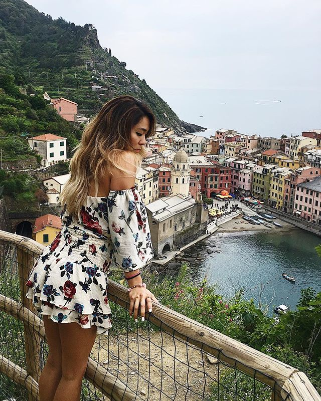 Can you tell this is my favorite town in Cinque Terre? 🌞