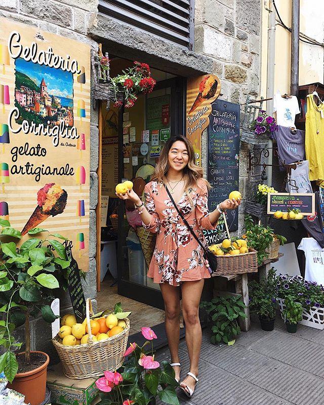A shoutout to bomb Italian lemons 🍋 #cinqueterre