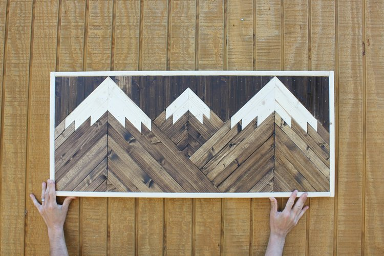 Mountain Wood Wall Art 6 — SOW THE LAND