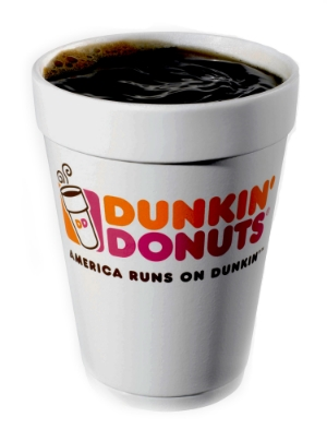 Dunkin' Donuts didn't make the list but we thought we would shout it out since Pat Moore loves it!