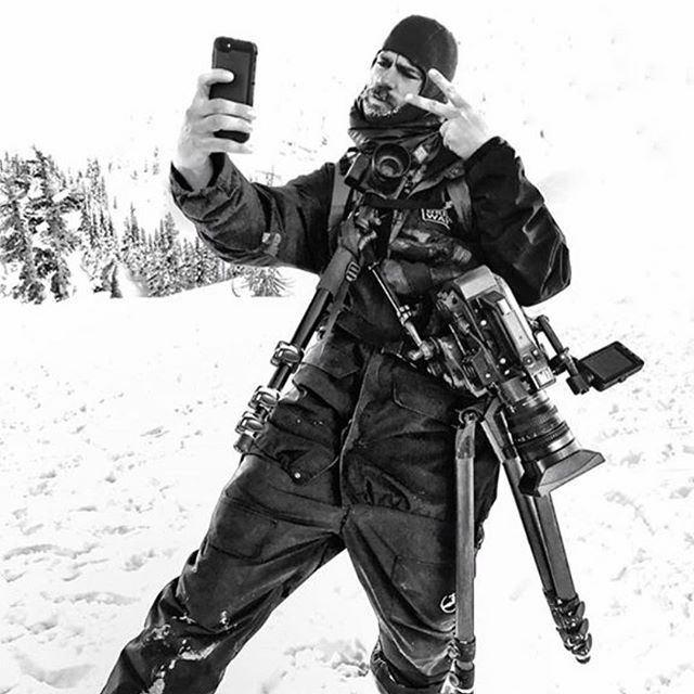 Multimedia. Filmer @colindwatt running a balaclava and insulated airtube while in the field. #Airhole