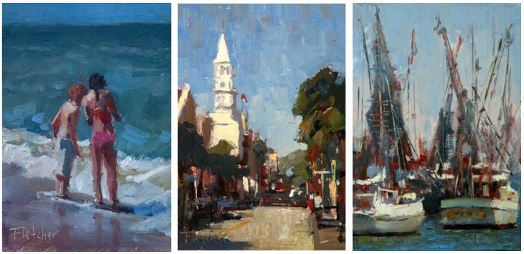 3rd ANNUAL STUDIO LANDSCAPE PAINTING WORKSHOP with Bill Fletcher -
