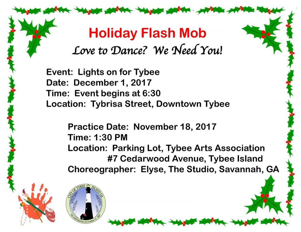 Holiday Flash Mob -