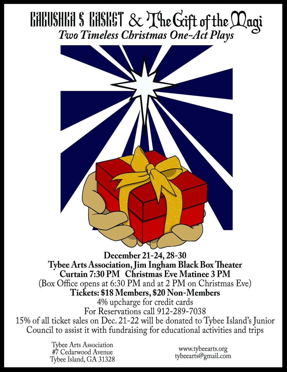 Babushka's Basket & The Gift of the Magi - Two Timeless Christmas One-Act Plays