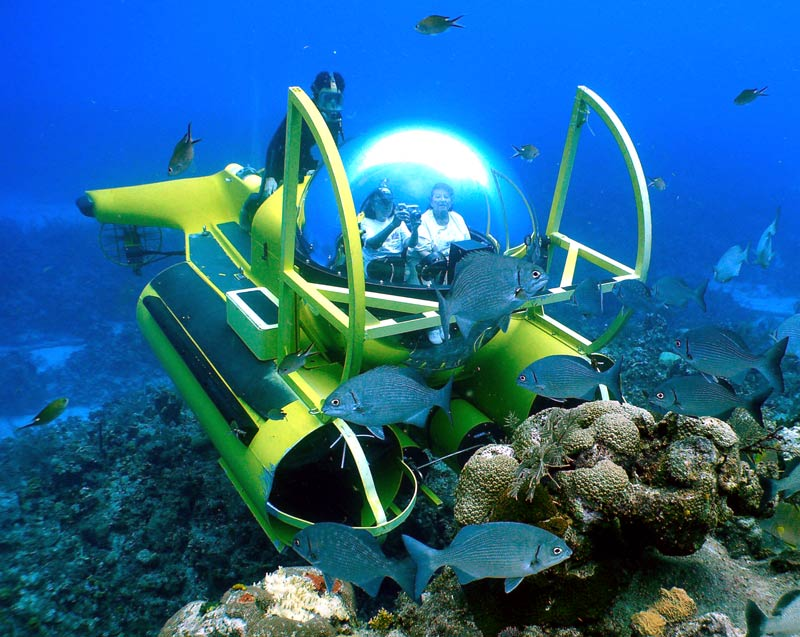 The Bubble Sub of the Caymans